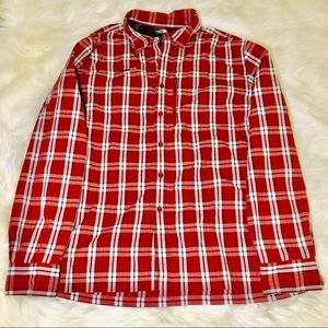 The North Face Men's Vented Plaid Button Down!